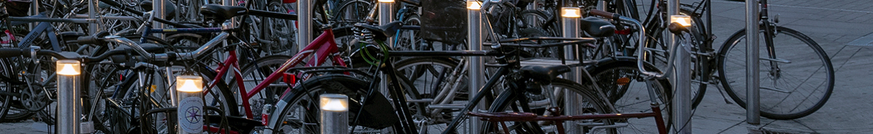 Nørreport bicycle stand