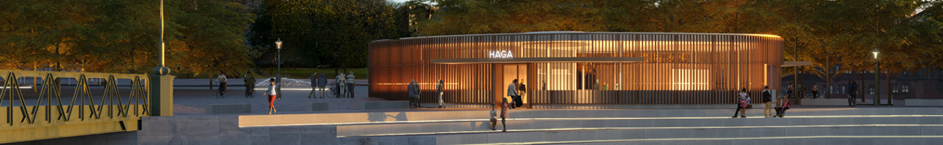 Haga station and urban space