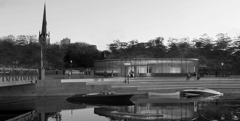 Gottlieb Paludan Architects udformer station og byrum i historisk miljø i Göteborg