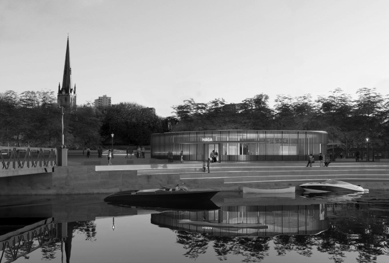 gottlieb_paludan_architects_haga_stationsomraade_fra_kanalen_kulturhistorisk_miljoe_byrum_stationsbygninger_1