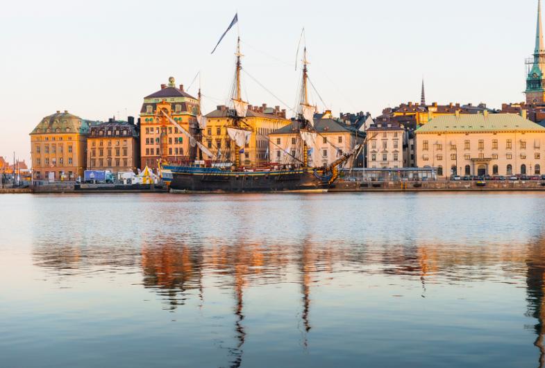 Gottlieb Paludan Architects og AFRY designer ny fergeterminal i Stockholms Gamla Stan