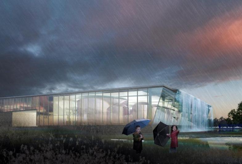GPA designs ground-breaking water house
