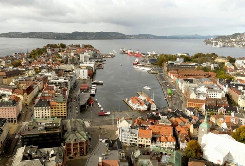 Gottlieb Paludan Architects shortlisted i Bergen