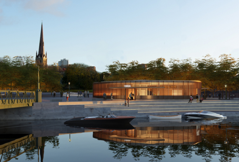 Gottlieb Paludan Architects to design station and urban space in Gothenburg's historical environment