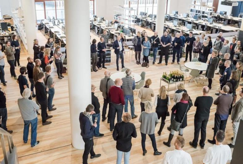 Gottlieb Paludan Architects has moved to Nordhavn