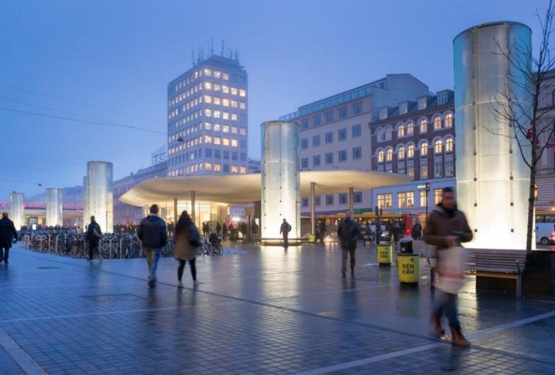Nørreport Station vinder Den Danske Lyspris 2016
