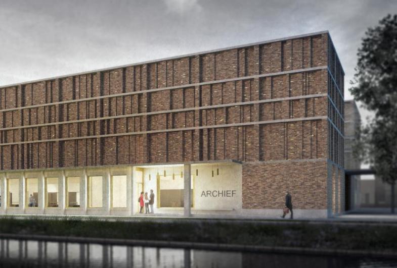 Danish-Dutch brick architecture wins in Delft