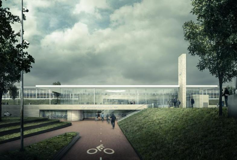 GPA and Office Winhov to renovate and extend Station Amsterdam Amstel
