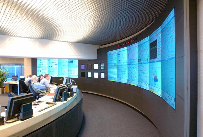 Asnæs Power Plant, Control Room