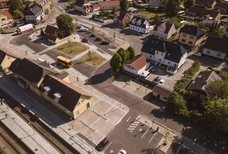 Stationspladsen i Frederiksværk