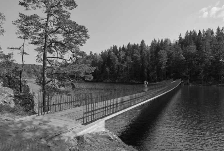 Gottlieb Paludan Architects to design new bridge and entrance in Tyresta National Park, Sweden