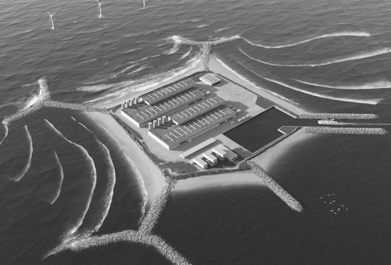 Hydraulikk og arkitekter utvikler miljøvennlig energiøy