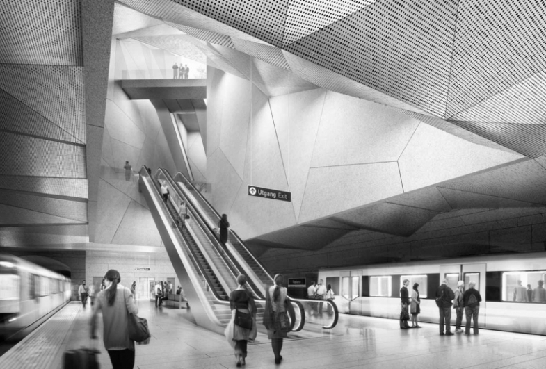 Gottlieb Paludan Architects wins two metro stations in Oslo