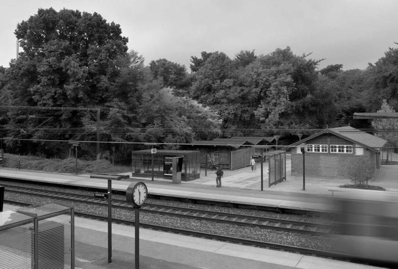 Skodsborg Station, Forpladsmodernisering på Kystbanen