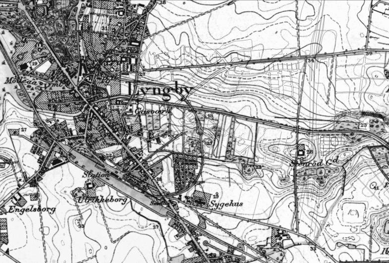 Fæstningskanalen i Kgs. Lyngby