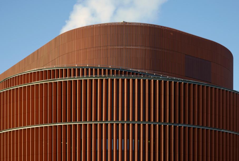 Värtaverket, Biomass-Fuelled CHP Plant