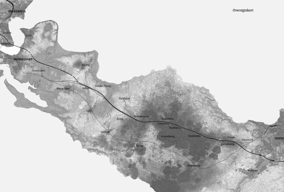 High-Speed Railway Line across West Funen