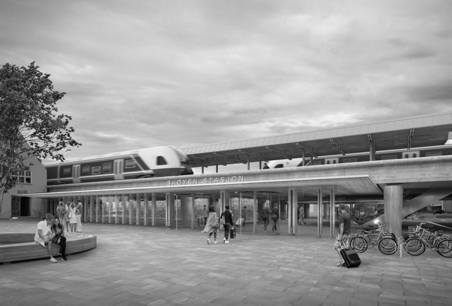 Skøyen Station