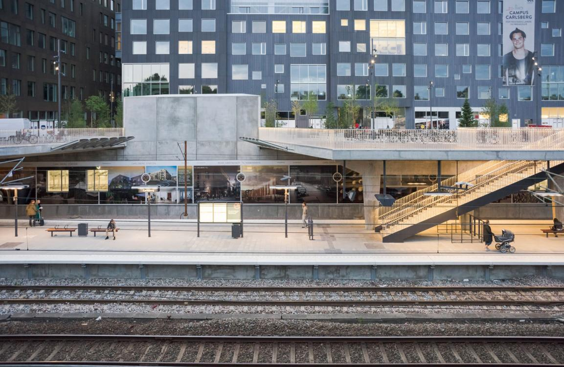 parkering enghave station
