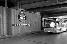 Oslos centrale bus-terminal er officielt genåbnet