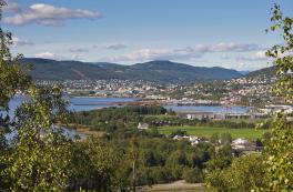 Sentrumsutvikling og befolkningsvekst i Lierbyen