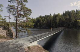 Gottlieb Paludan Architects skal designe ny bro og inngang til Tyresta Nationalpark i Sverige