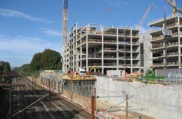 Carlsberg Station: Construction is underway