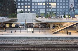 Carlsberg Station opens