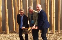 Første spadestik på Københavns nye biomasse-kraftværk
