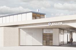 Stasjonsutvidelse skal understøtte byutvikling i Häggvik