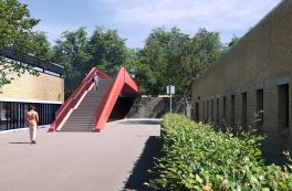 Ny bro over letbanen på DTU i Lyngby