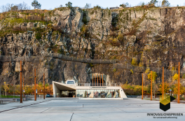 Holmestrand Station receives honourable mention for universal design